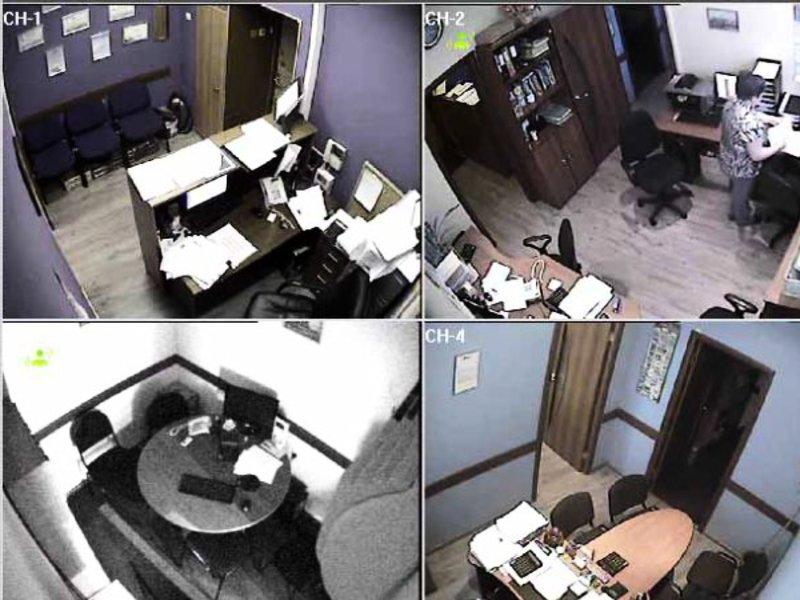 Монтаж видеонаблюдения в офисе