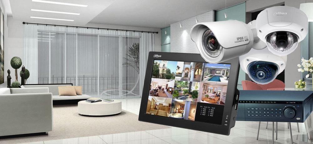 Наблюдение через систему видеонаблюдения в квартире