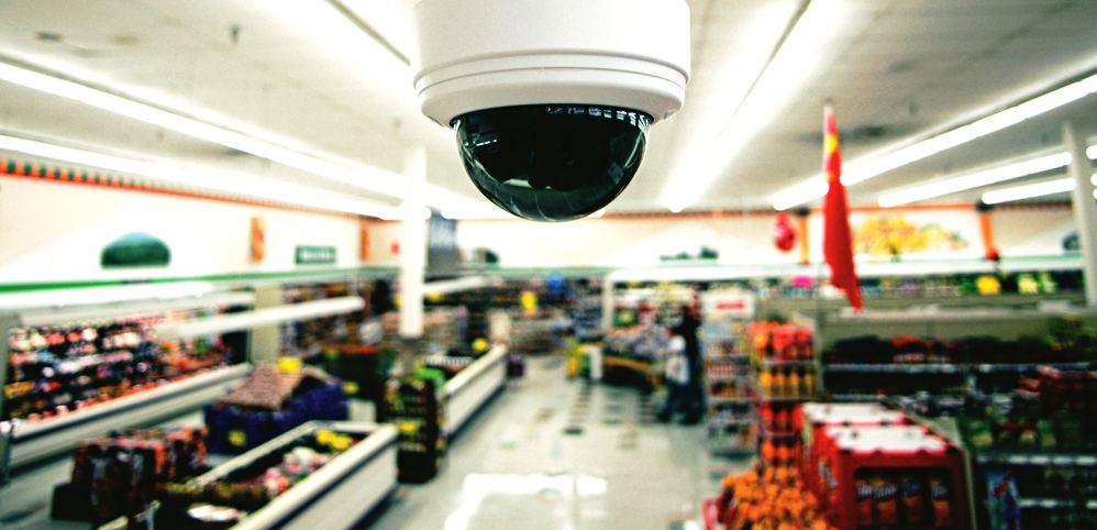 монтаж видеонаблюдения в магазине