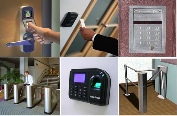 Виды оборудования систем контроля доступа