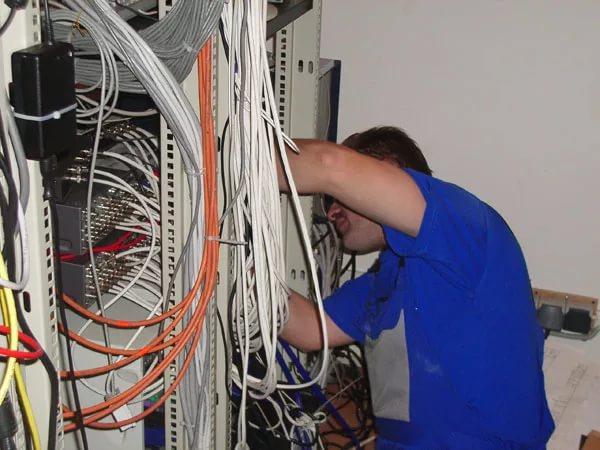 моменты прокладки и монтажа кабельных сетей в здании