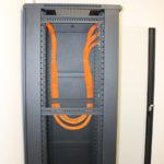 Укладка кабеля UTP в Серверном шкафу
