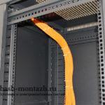 Жгут в серверном шкафу